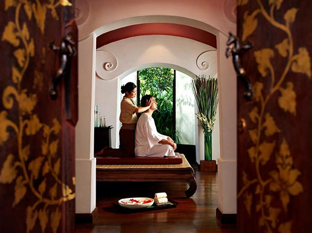 Condos for sale in Chiang Mai - Traditional Thai massage treatments